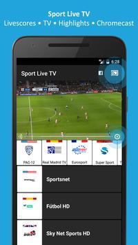 Sport TV Live - Live Score - Sport Television poster