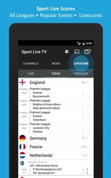 Sport TV Live - Live Score - Sport Television screenshot 5