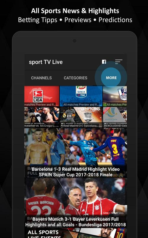 Sport Tv Live For Android Apk Download