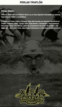 PERLAS TRIATLÓN poster