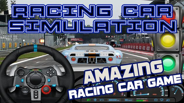 Sports Car Game Simulation poster