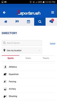 SportsRush apk screenshot