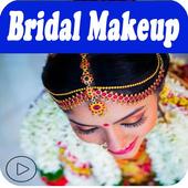 South Indian Bridal Makeup App Tamil Videos icon