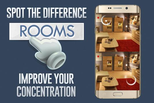 Spot The Difference: Rooms screenshot 2