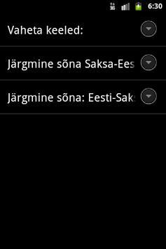 Estonian German Words Trainer apk screenshot