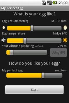 My perfect egg timer poster