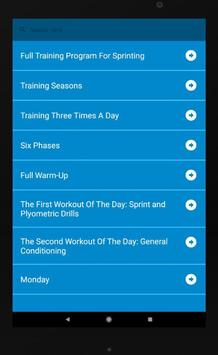 100M Sprint Training for Android - APK Download