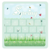 Spring Theme Beauty Keyboard icon