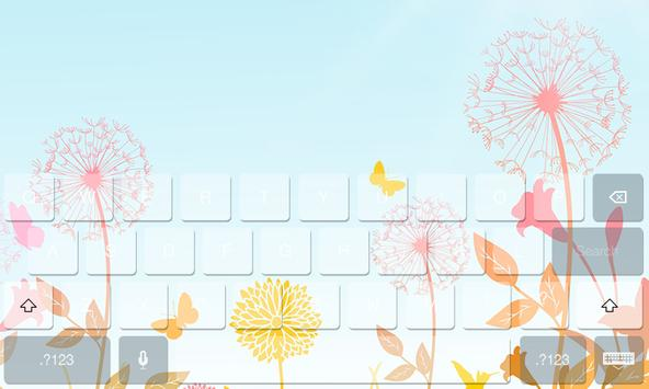Spring Theme Beauty Keyboard apk screenshot