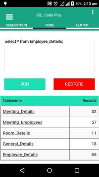 SQL Code Play screenshot 2