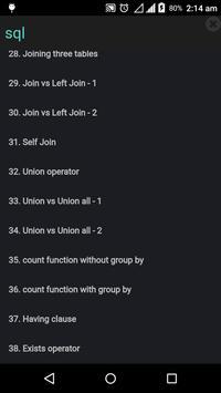 SQL Code Play screenshot 5