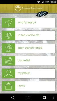 Suriname Tourism App poster