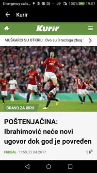 Serbian newspapers apk screenshot