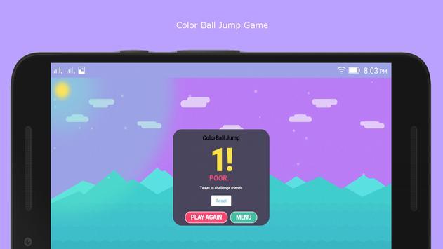 ColorBallJump Game screenshot 2