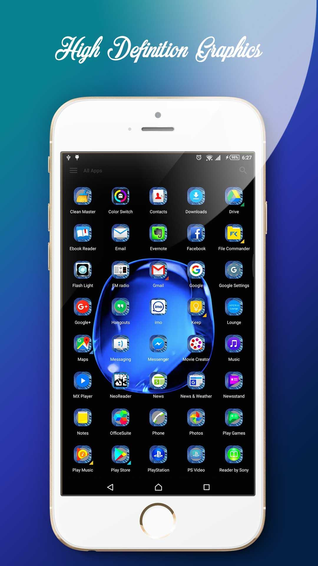 Theme for iPhone 6S Plus for Android - APK Download