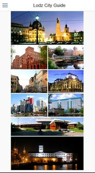 Lodz City Guide poster