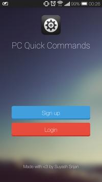 PC Quick Commands poster