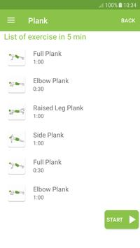 Plank Workout screenshot 2