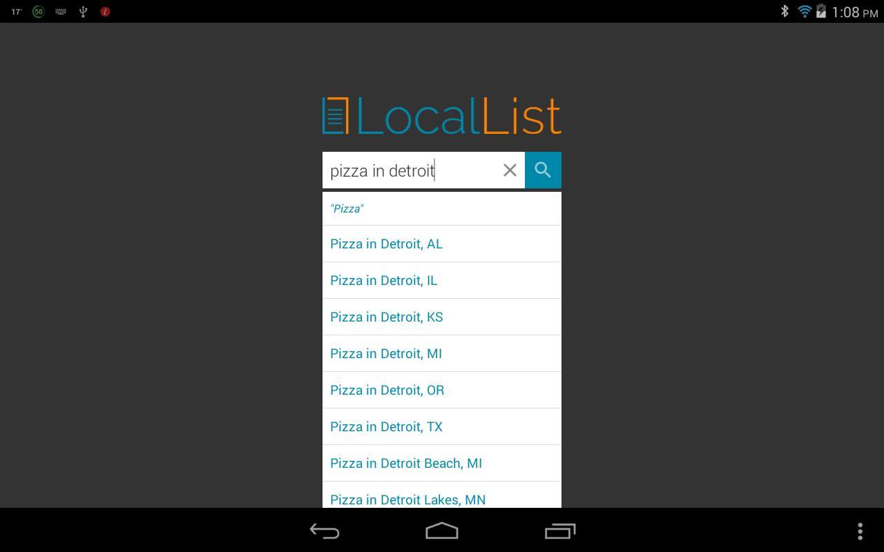 LocalList - Search Local poster