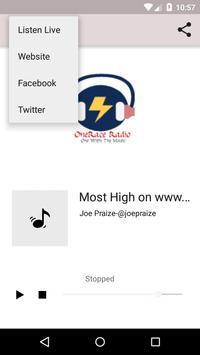 Onerace Radio screenshot 1