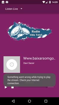 Rádio Vida Total poster