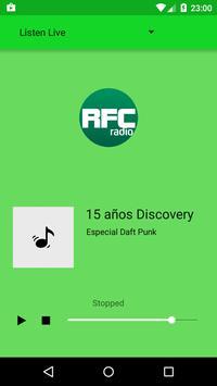 RFC Radio plakat