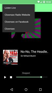 Clownsec Radio screenshot 1