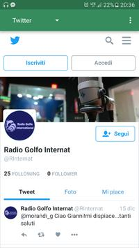 Radio Golfo International screenshot 1