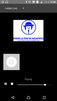 Radio la voz de Ingapirca poster