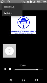 Radio la voz de Ingapirca apk screenshot