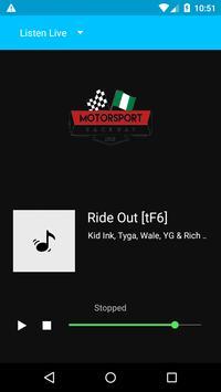 Motorsport Raceway Radio screenshot 1
