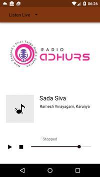 Radio Adhurs New Zealand poster