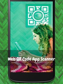 Web QR Code App Scanner poster