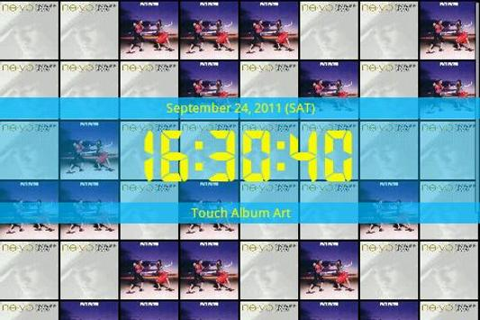 Music Art Clock screenshot 1