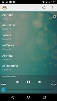 Juzz Amma mp3 apk screenshot
