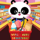 panda supermarket match 3