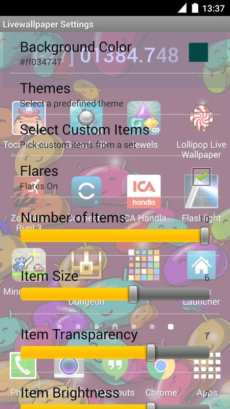 lollipop live wallpaper apk baixar gr225tis personaliza231227o