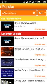 Karaoke Sing and Record screenshot 2
