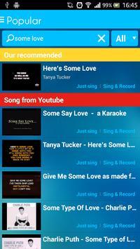 Sing Karaoke screenshot 2