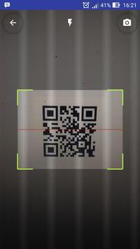 QR Code Scanner captura de pantalla de la apk