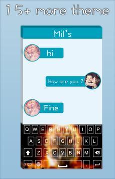 Fire Skull Keyboard apk screenshot