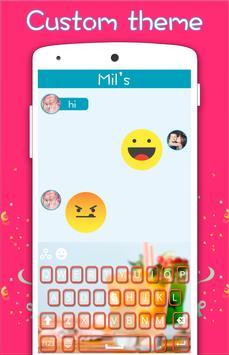 Glass Keyboard apk screenshot
