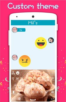 Ice Cream Keyboard apk screenshot