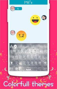 Rainy Glass Keyboard poster