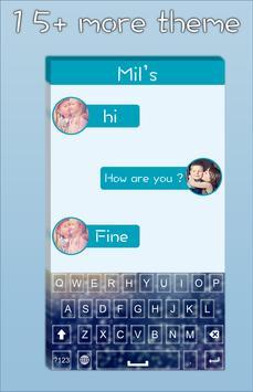Rainy Glass Keyboard screenshot 3