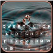 Water Drop Keyboard icon