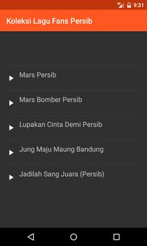 Koleksi Lagu Fans Persib screenshot 2
