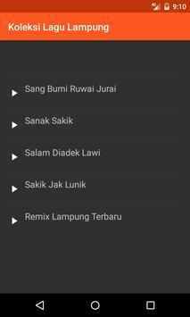 Koleksi Lagu Daerah Lampung poster