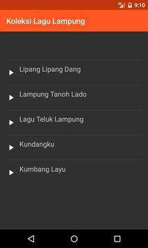 Koleksi Lagu Daerah Lampung screenshot 1
