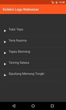 Koleksi Lagu Daerah Makassar poster